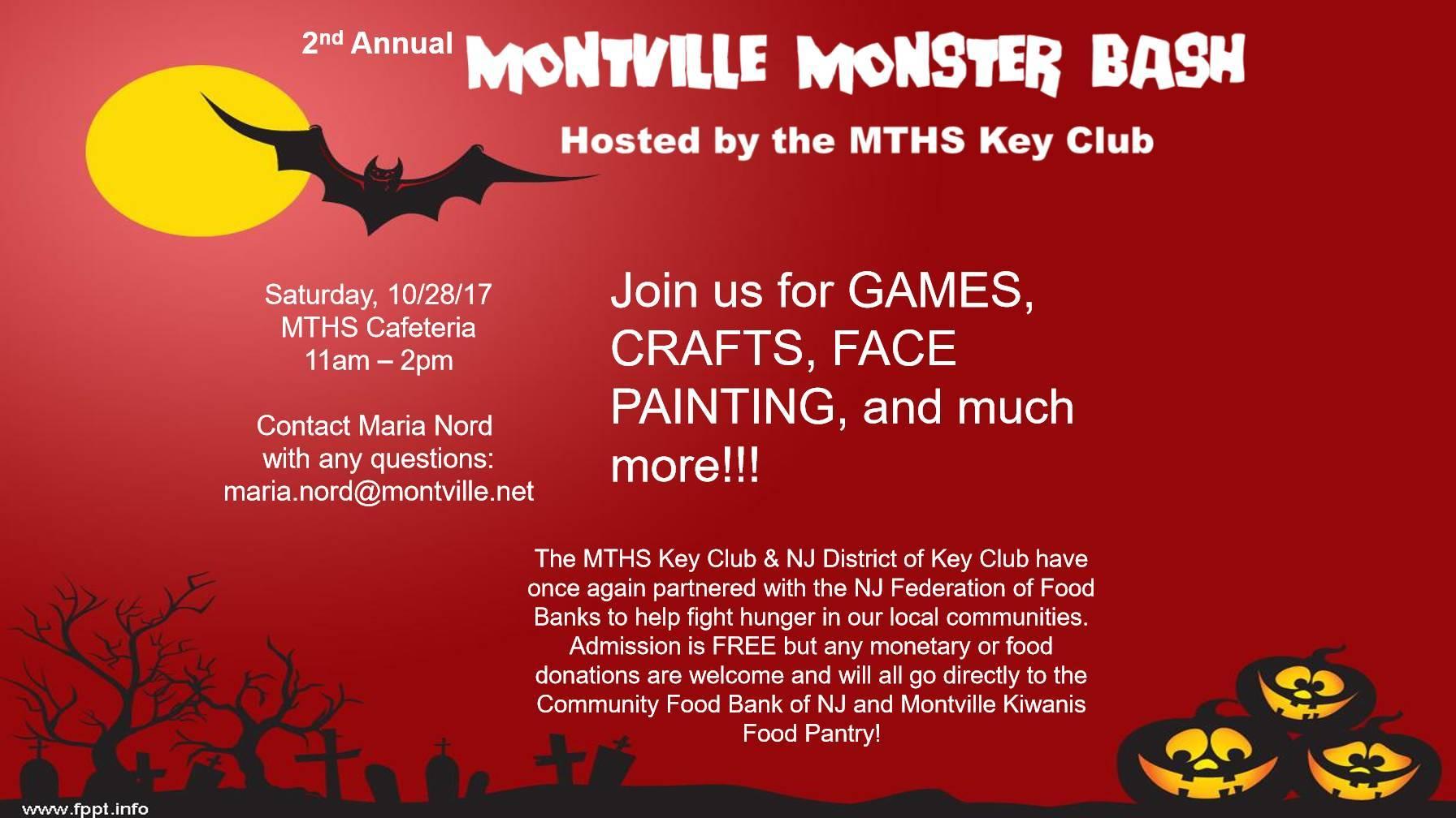 Montville Monster Bash for Kids - TAPinto
