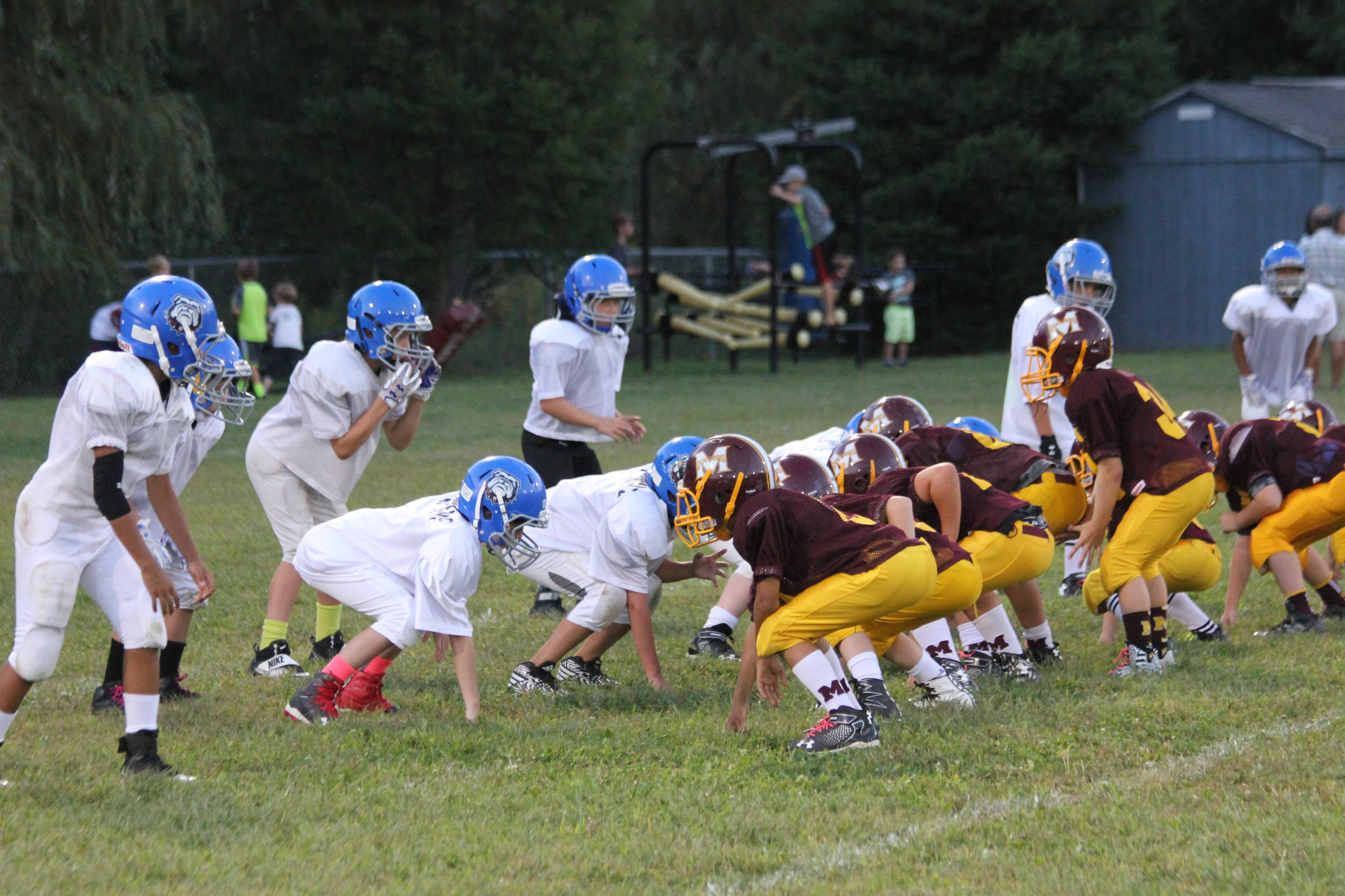 Randolph And Madison Youth Football Scrimmage To Benefit Cirella