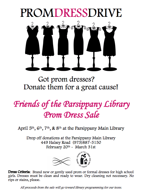 Prom Dress Drive Ends on Saturday - News - TAPinto