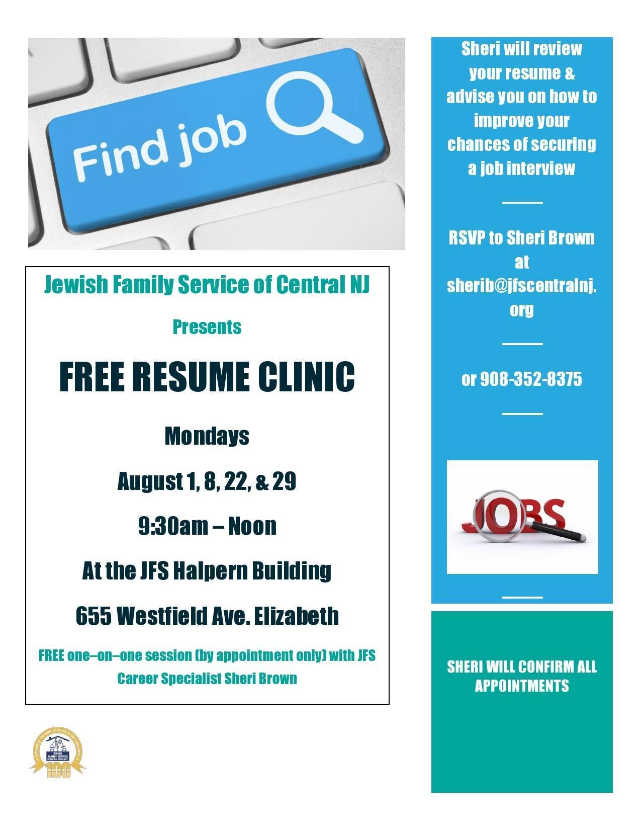 free oneonone resume clinic news tapinto