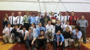 2012 Boys Soccer Championship Team
