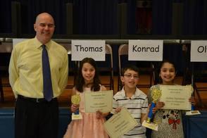 Wilson School Geography Bee winners