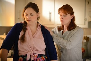 Sarah Elise Grodsky and Lainie Ventura in Sitter