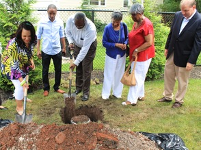 Roselle Community Joins Dr. Polk Family and Plants Time Capsule, photo 18
