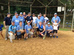 Winners of the First Annual Joe Valentine Memorial Softball Tournament Tournamant