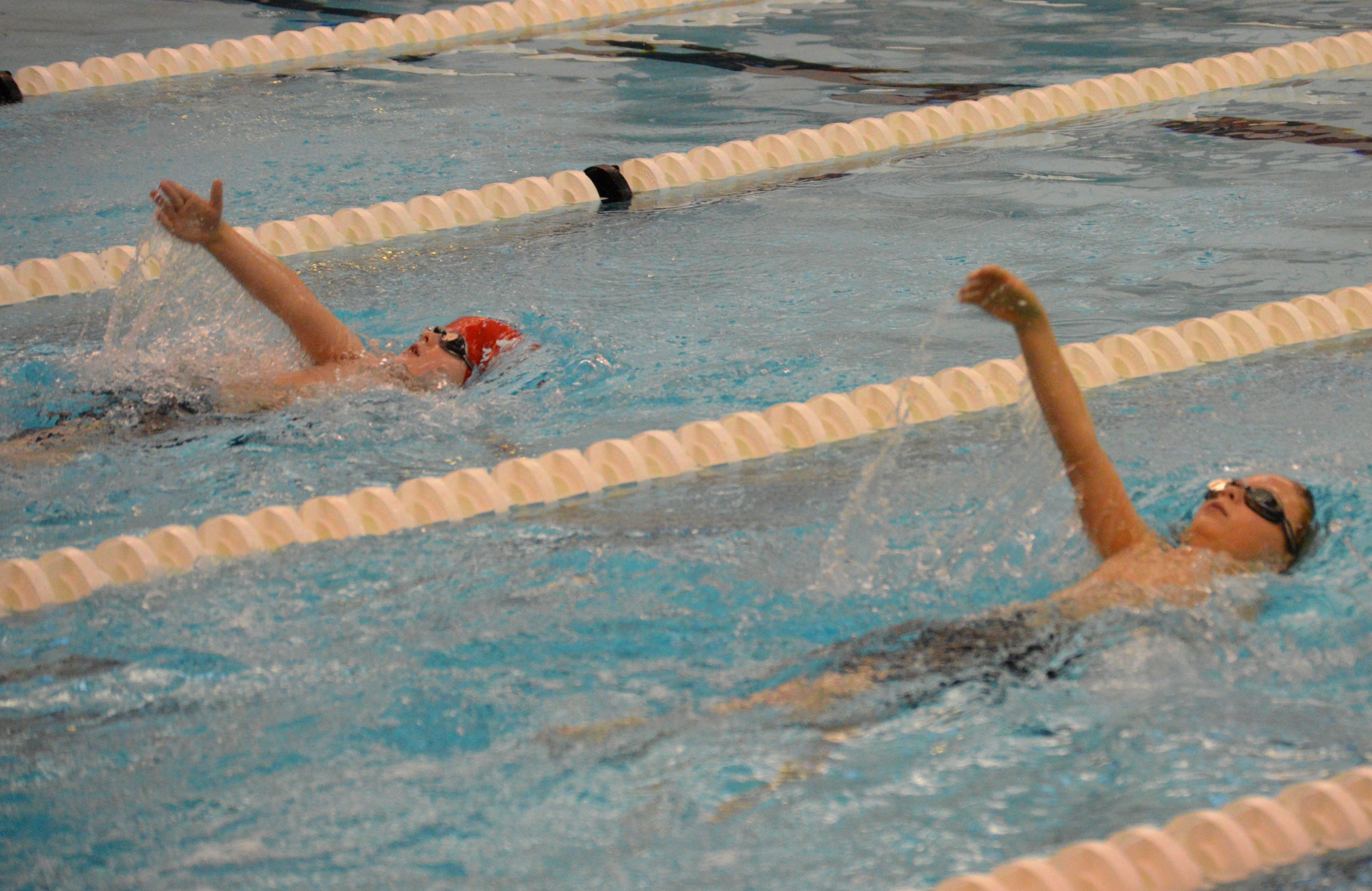 swimming scenes from winter chill at fanwood scotch plains ymca