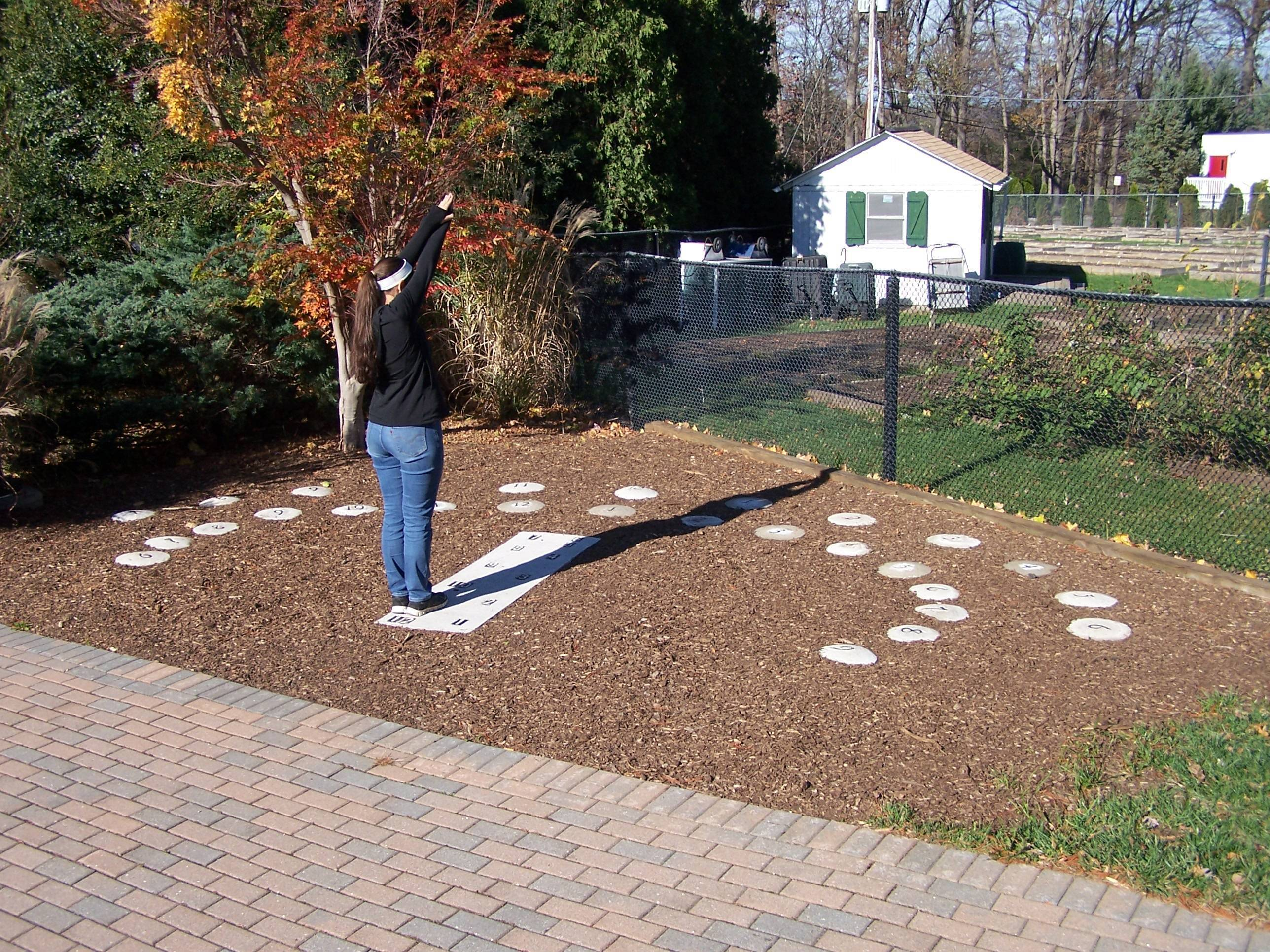 Local Girl Scout Creates Giant Sundial at Morristown\'s Frelinghuysen ...