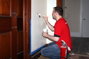 Keller Williams Midtown Direct Realty Team Volunteers to Paint Former Women's Club Building, photo 2