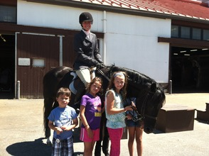 Watchung Stables Holds Olympic Equestrian Day, photo 3