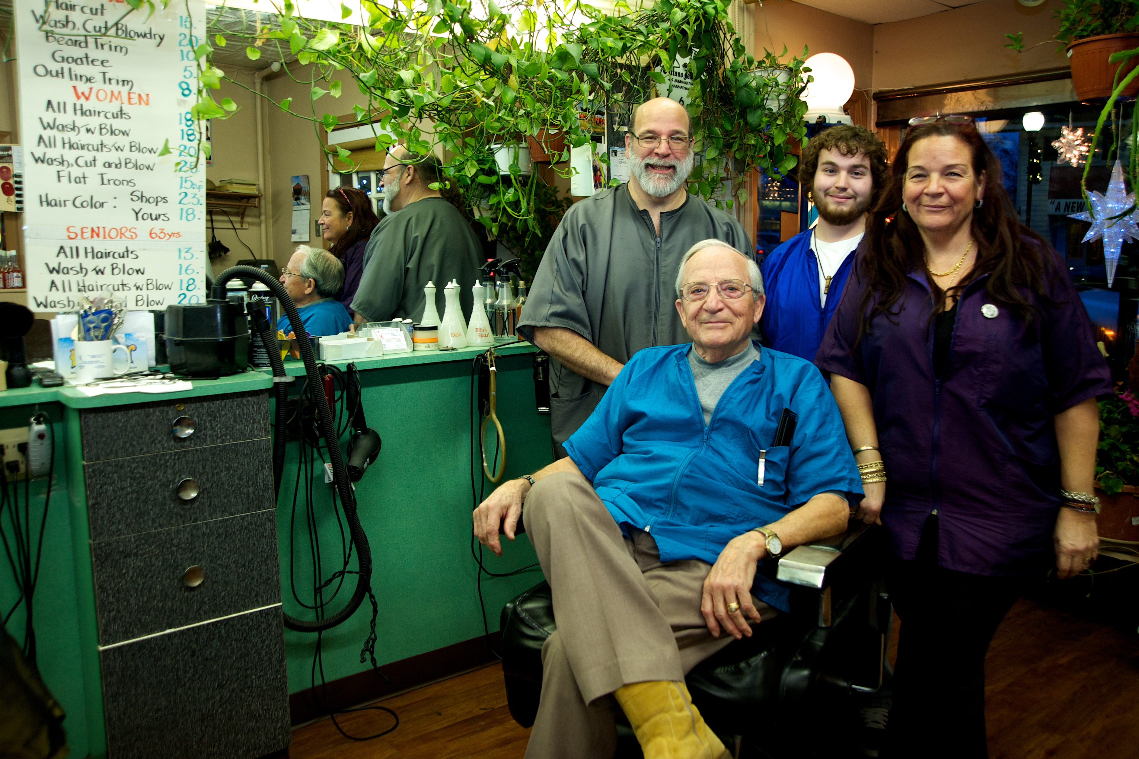 Barber Shop Edison Nj : Plaza Barber Shop of Morristown Adds 4th Generation of Barbers and ...