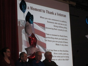 Veterans Day Honored at Center Grove Elementary School, photo 1