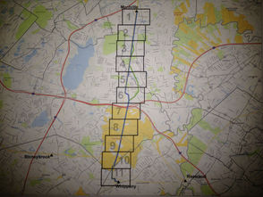 Whippany-Montville Reinforcement Project Map