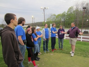 Venture Crew 276 visits Rolling Greens Golf Course
