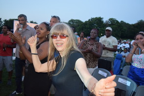 "James ""JT"" Taylor formerly of Kool and the Gang Performs in Brookdale Park, photo 1"