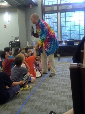 Fun at the Library