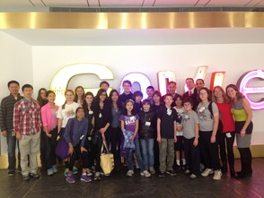Chatham STEM Hosts Student Tour of Google, Inc.