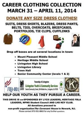 Career Clothing Drive to Be Held for The Covenant House, photo 1
