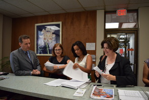 Petitions Submitted to Montclair Township Clerk to Give Private Sector Workers Paid Sick Days, photo 4