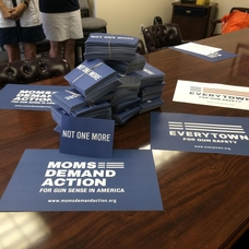 Postcards delivered to Congressman Lance's office