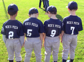 Team Sponsored by Nick's Pizza