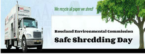 Roseland Environmental Commission Offers Free Safe Document Shredding Day, Saturday, photo 1