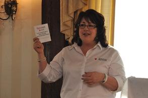 MaryAnn Maikisch, talks about ways to fundraise.