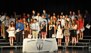 MTHS National Honor Society Inductees 2014