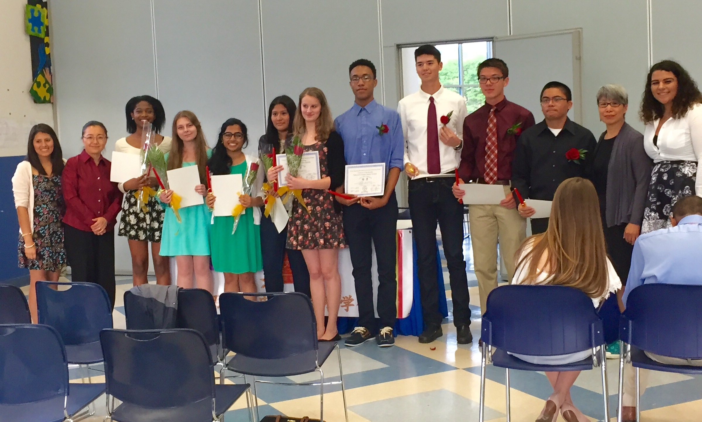 World Language Honor Society Inductions Held At West