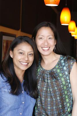 B.I.G. co-leaders Mallika Malhotra and Joy Chang