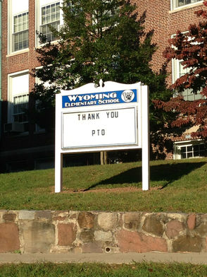 PTO Installs New Sign at Millburn's Wyoming Elementary School, photo 4