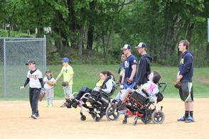 Randolph Youth Volunteers Help Make Challenger Game an Inspirational Experience For All, photo 8