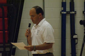 BRHS Football Coach Scott Bray