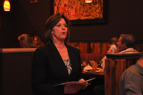 Tammie Horsfield, President of the Sussex County Chamber of Commerce.