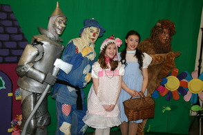 Wizard of Oz Cast Photos