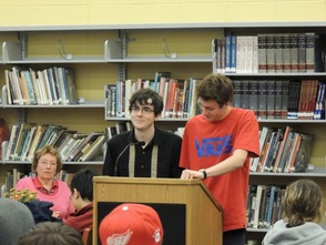 Poetry Festival at Sparta High School, photo 1