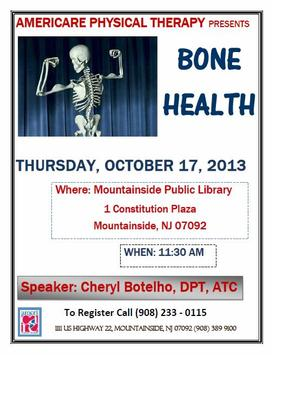 How to Keep Your Bones Healthy: Courtesy of AmeriCare Physical Therapy, photo 1