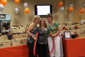 Raffles were fun and fundraisers for the evening.