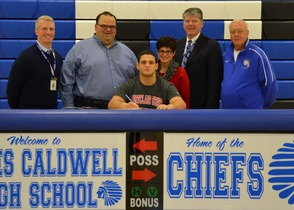 Joe Galioto Signs Letter of Intent to Play Football for Montclair State University