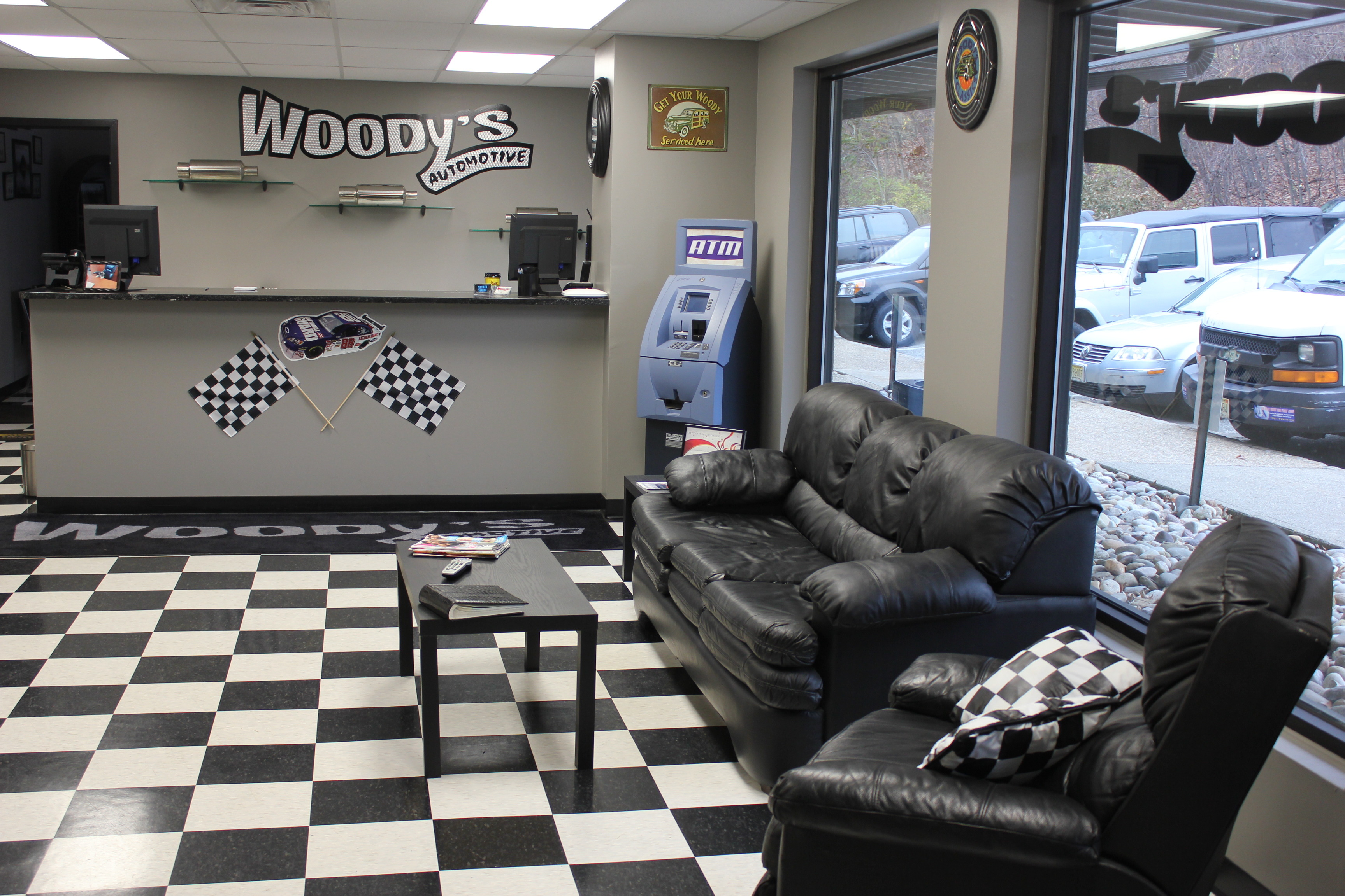 Woody 39 s automotive new auto repair shop opens in randolph for Auto decoration shops in rawalpindi