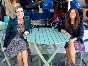 Lori Csik and Jen Zullo of Dressed by Lori
