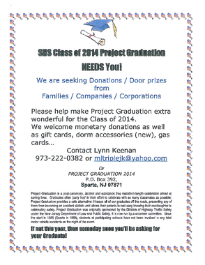 Project Graduation Seeks Donations, photo 1