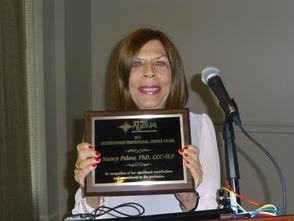 Dr. Nancy Polow, the Director of Suburban Speech Center in Short Hills
