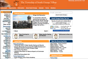 South Orange website screenshot
