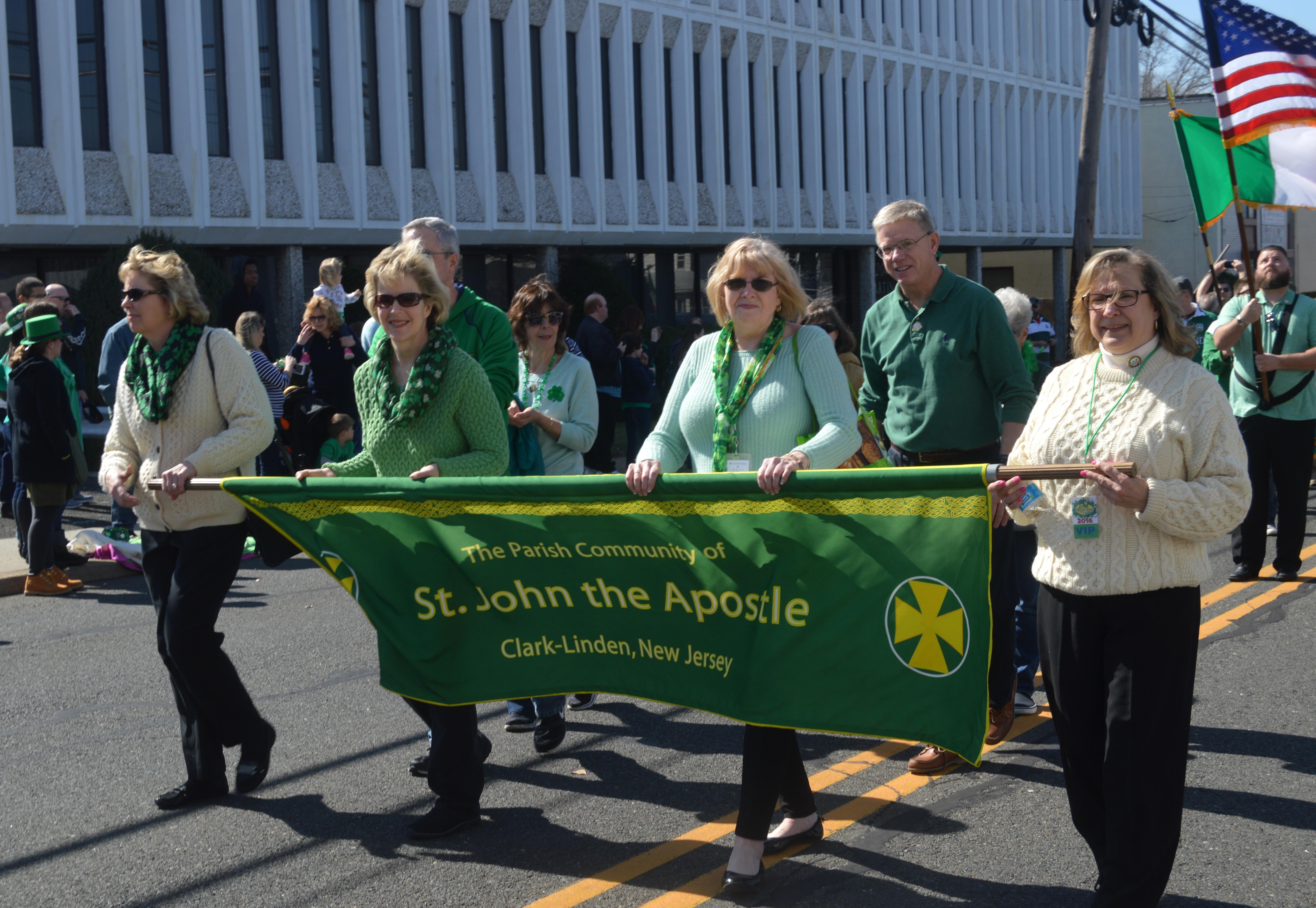 irish pride at the union county st patrick s day parade clark 2016 union county st patrick s day parade