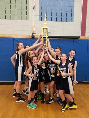 Berkeley Heights 6th Grade Girls Basketball Team Wins Branchburg March Madness Tournament, photo 2