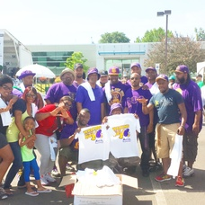 Omega Psi Phi Fraternity Participates in 5K Walk to Help Raise Money for Kidney Disease.  , photo 3