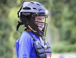 Catcher Colin Mahr