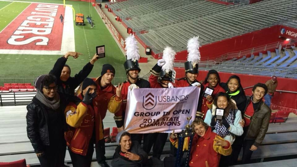 Edison H.S. Marching Eagles Bring Home 3rd Consecutive Win in USBands NJ States Championship