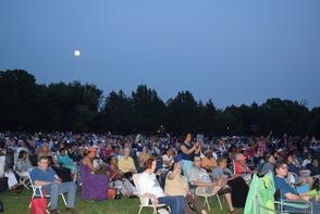Brookdale Park concert-goers