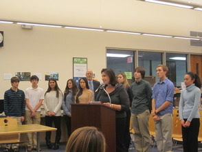 Students Honored at the Randolph Board of Education 2014 Organization Meeting, All Geared Up For The New Year, photo 10
